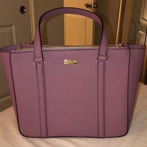 Kate Spade pink/purple purse